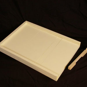 Soild Bottom Board – 10 Frame, Painted