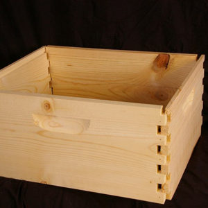 Hive body – 10 Frame, 9-5/8″ Deep, UNPainted, Empty