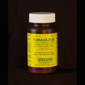 Fumagilin-B,  24g bottle, 1/2g base