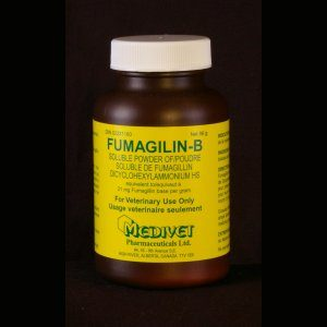 Fumagilin-B,  96g bottle, 2g base