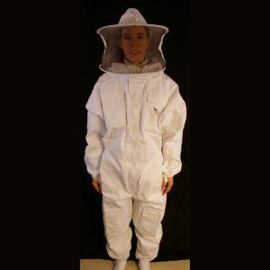 Professional Beekeeper's Suit with Round Veil