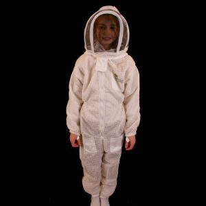 Childs Ventilated Beekeeping Suit with Fencing Veil-Read Me!