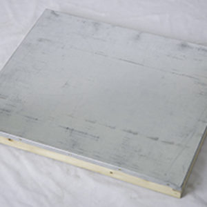 Telescoping Cover, 8 Frame, Assembled, Painted