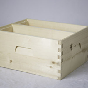 Divided Deep Brood Box – Unassembled