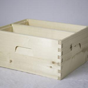 Divided Deep Brood Box – Unassembled