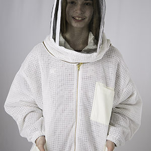 Ventilated Beekeepers Jacket with Fencing Style Veil