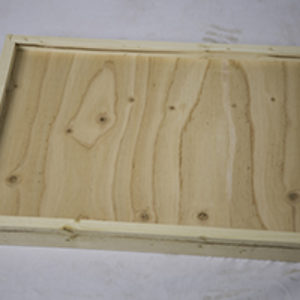Soild Bottom Board – 5 Frame, UnPainted